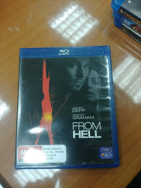 Used From Hell Bluray in Dubai, UAE