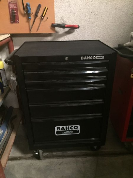 Used TOOL BOX Swedish Manufacturer BAHCO! in Dubai, UAE