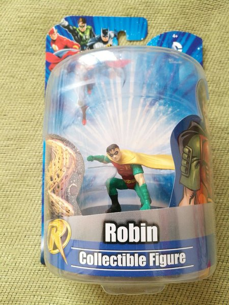 Two Robin action figure