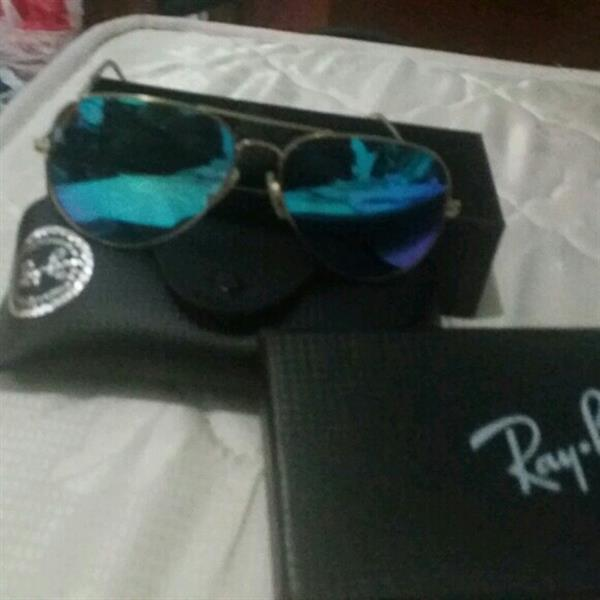 Used Ray Ban Aviator Collection Master Copy With Box in Dubai, UAE