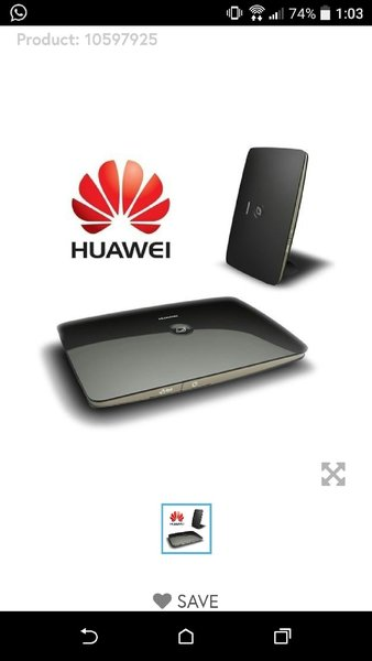 Used 4 pcs New Huawei 3G router in Dubai, UAE