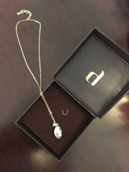 Used 18k Gold Pendant with chain.  in Dubai, UAE