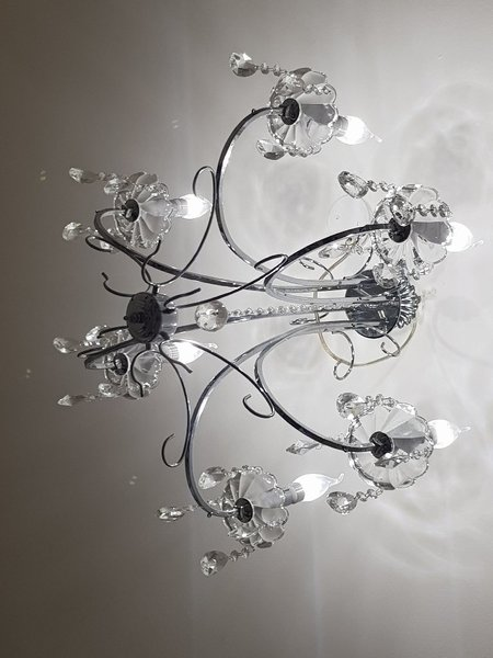 Used 6LED cristal chandelier in Dubai, UAE
