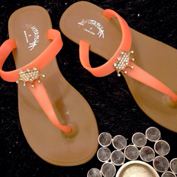 Used Slippers euro 38 with crown  in Dubai, UAE