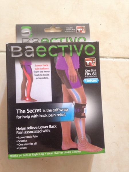Used Calf wrap for back pain, lower back pain in Dubai, UAE