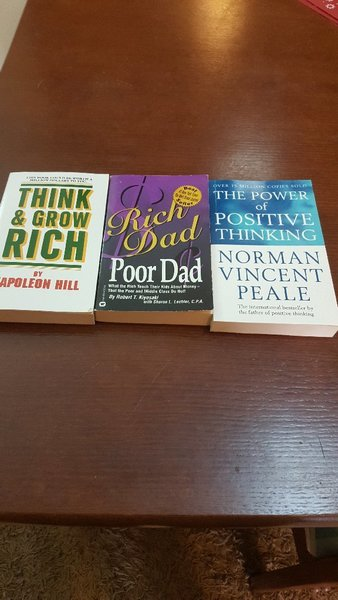 Used Selection of motivational books in Dubai, UAE