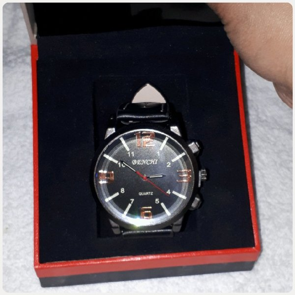 Used Watch for man black color in Dubai, UAE