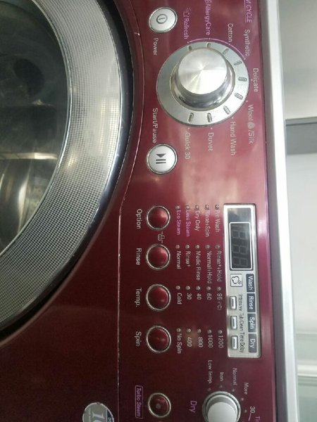 Used LG DD True Stream 12/6 Washing Machine in Dubai, UAE