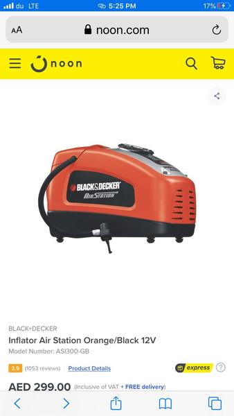 Used Black and  decker air station in Dubai, UAE