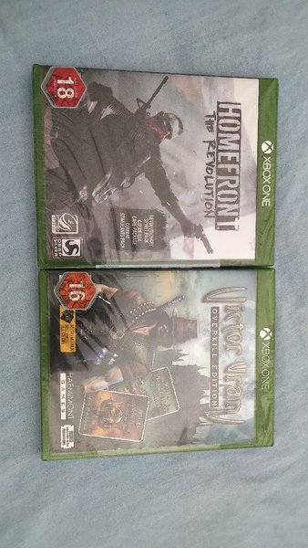 Used ( Homefront/ Victor Vran ) for xbox one in Dubai, UAE