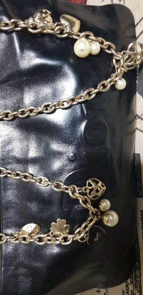 Used Vintage Real Leather Dior Bag in Dubai, UAE
