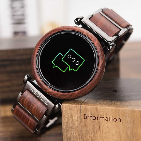 Used Bobo bird - Luxury wooden smart watch in Dubai, UAE