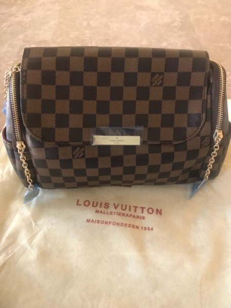 Used Brown Louis Vuitton 💼 bag AAA copy in Dubai, UAE