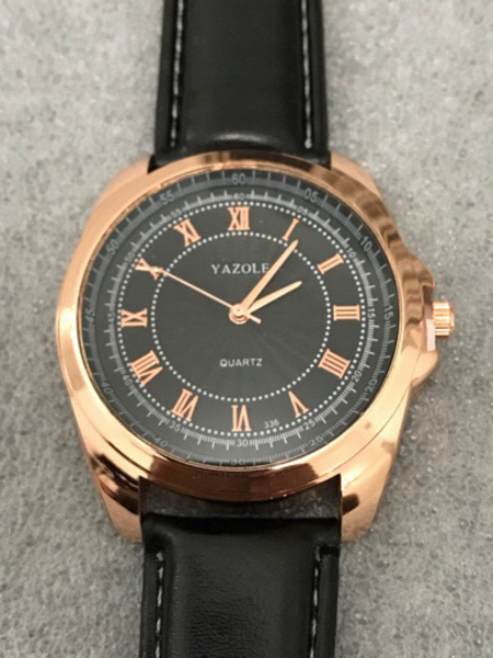 Used Selling Low New  original leather watch in Dubai, UAE
