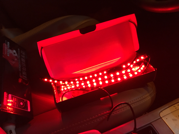 Used Multiple Colour Led Can Be Fix In Any Car  in Dubai, UAE