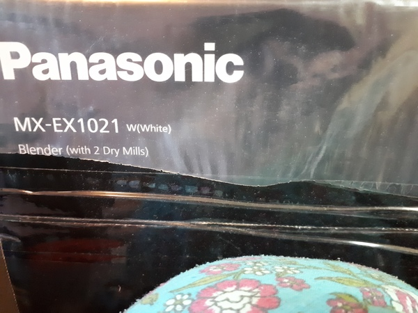 Used Panasonic blender with 2 mills new in Dubai, UAE