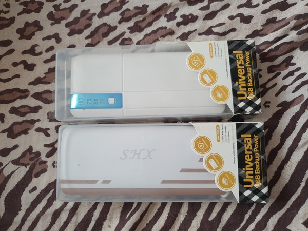 Used New 2pcs if 50000mah power banks in Dubai, UAE