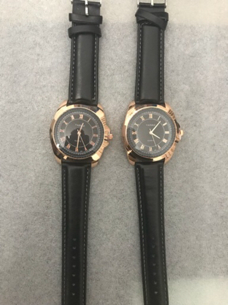 Used Two Brand New Genuine leather watches in Dubai, UAE