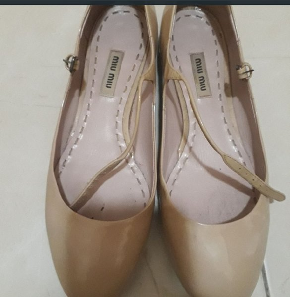 Used miu miu balerina shoes in Dubai, UAE
