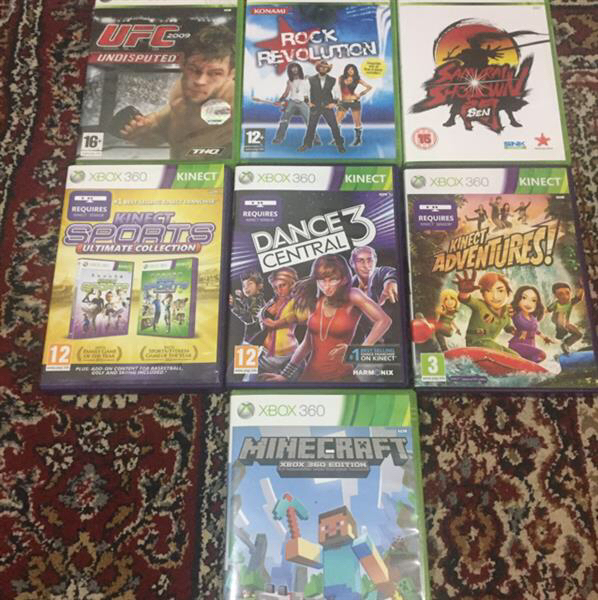 Used XBOX 360  4GB Kinect  in Dubai, UAE