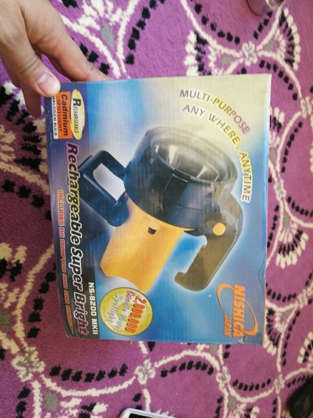 Used Rechargeable torch in Dubai, UAE