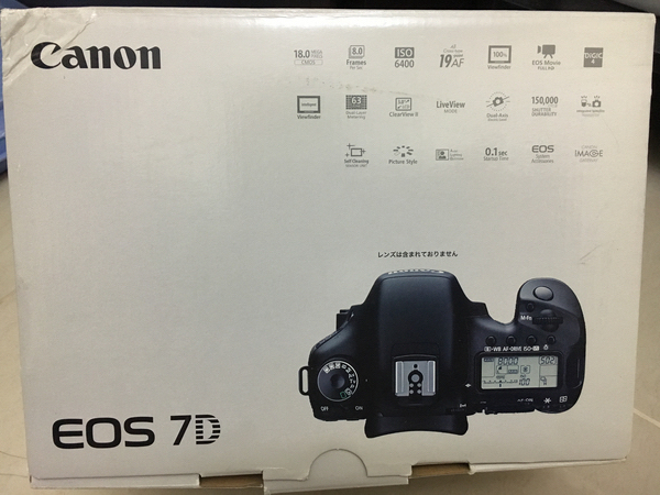 Used Used Canon 7D,kitlens,sd card and bag in Dubai, UAE