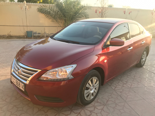 Used Nissan Sentra 2014 Red Edition For Sale in Dubai, UAE