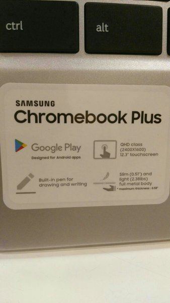 Used Samsung Cromebook Plus 32 GB 2 GB Ram  in Dubai, UAE