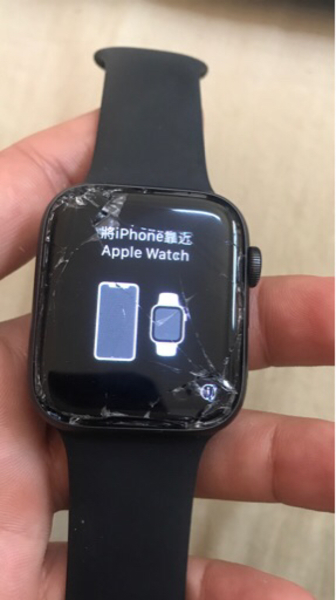 Used Apple Watch series 4 44mm with charger in Dubai, UAE