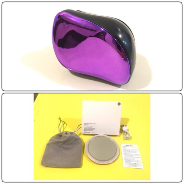 Used New wireless make up mirror + Hair Brush in Dubai, UAE