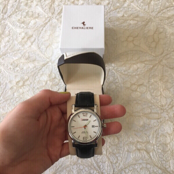 Used Genuine leather CHEVALIERE watch (new) in Dubai, UAE