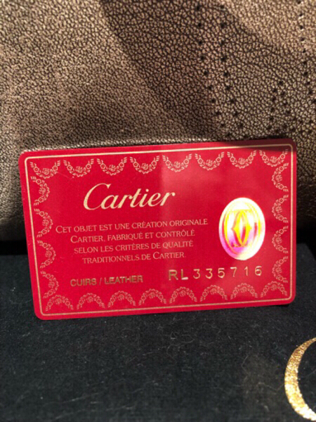 Used Cartier Marcello gold hand bag in Dubai, UAE