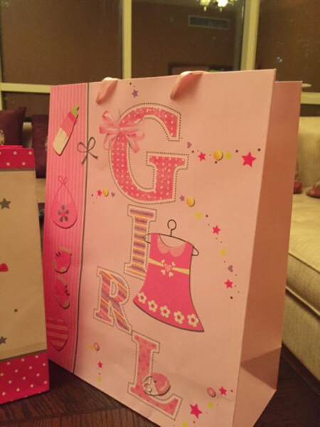 Used New Gift 3 bags for baby girls  in Dubai, UAE