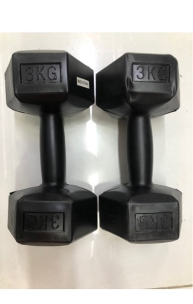 Used Dumbbells//3 kg x 2pcs/ new✨👍👌 in Dubai, UAE