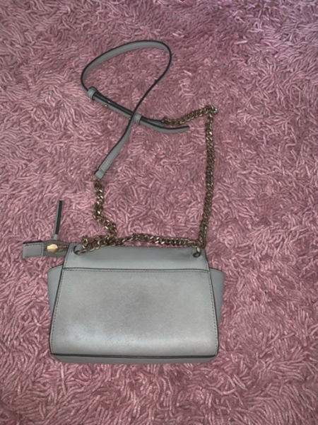 Used Authentic DKNY silver bag in Dubai, UAE
