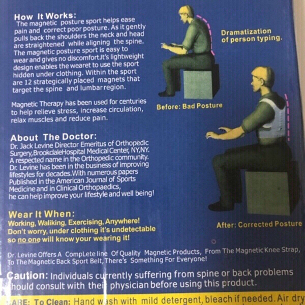 Used Power magnetic posture support (new) in Dubai, UAE