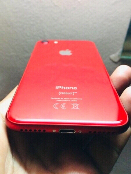 Used I PHONE 8 RED Limited Edition + Warranty in Dubai, UAE