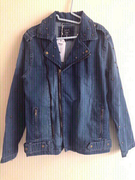 Used NEW💥2x Men's Denim Jackets MEDIUM +👕 in Dubai, UAE