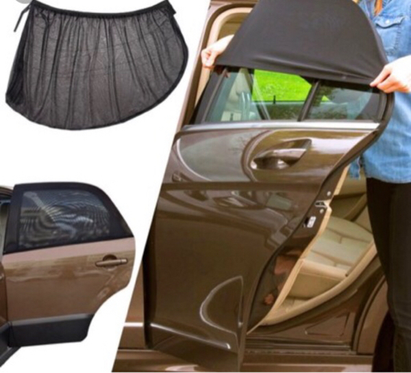 Used Sun screen Car Curtains in Dubai, UAE