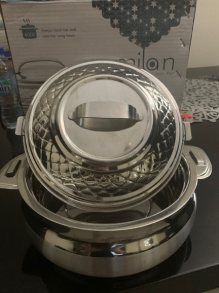 Used Decorative Stainless steel Hot Pot NEW! in Dubai, UAE