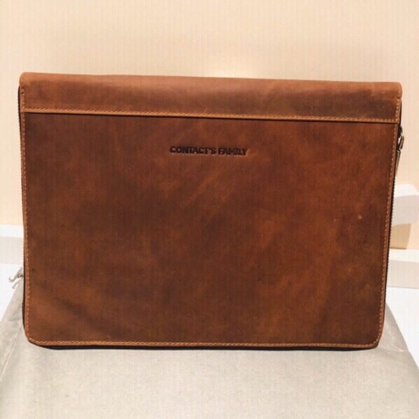 Used Handmade Vintage leather padfolio in Dubai, UAE