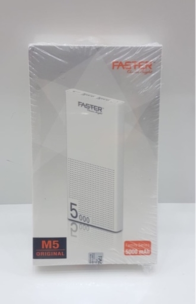 Used Faster M5 power bank 5000 mah 2 usb in Dubai, UAE