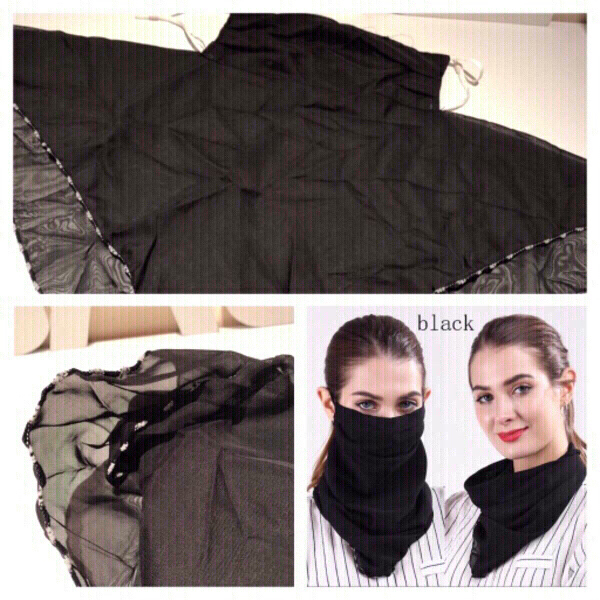 Used Dust protection mask/neck thin veil in Dubai, UAE