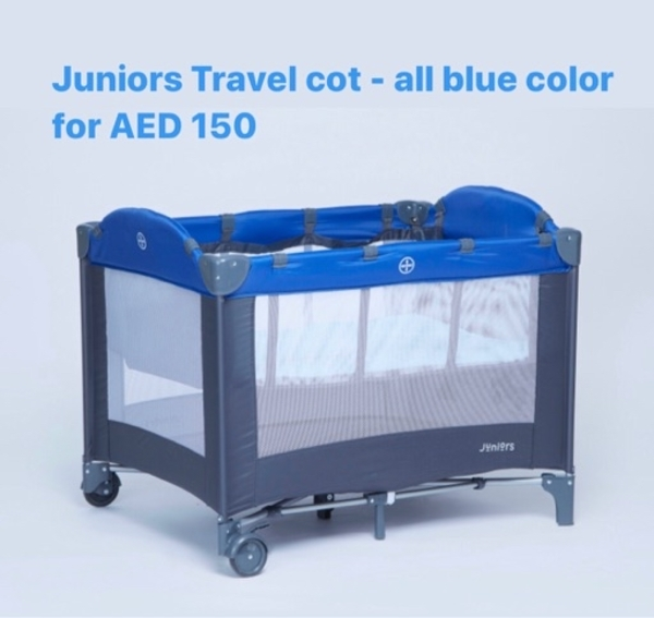 Used Kids baby bed travel cot Chicco stroller in Dubai, UAE