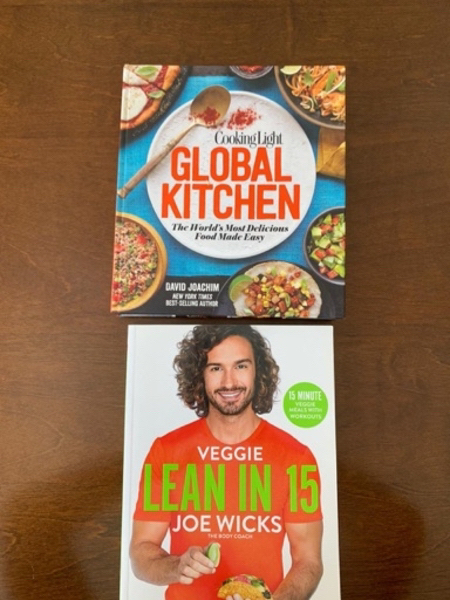 Used Two Books: Global kitchen & lean in 15 m in Dubai, UAE