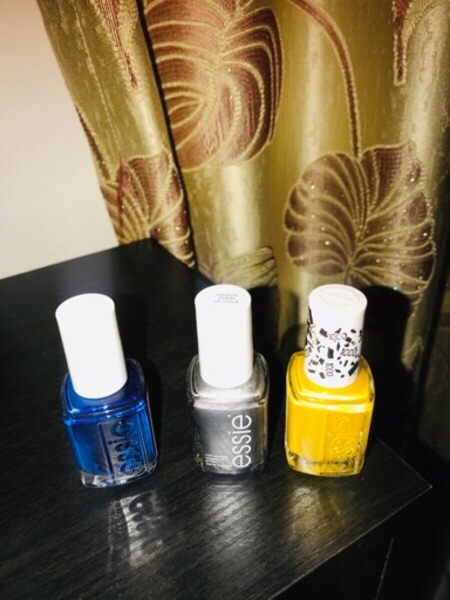 Used 3 Essie manicure colors, new & original in Dubai, UAE