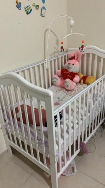 Used Baby bed 2-3 years in Dubai, UAE