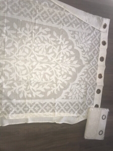 Used Beige curtains from Homestyle x2 in Dubai, UAE
