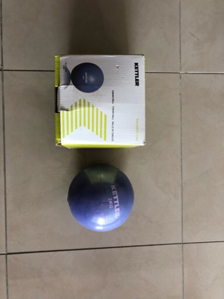 Used Kettler 2kg medicine ball in Dubai, UAE