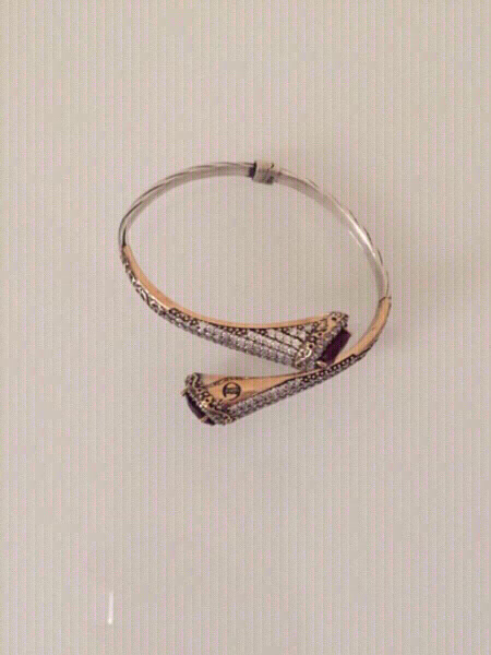 Used Silver bangle for sale in Dubai, UAE